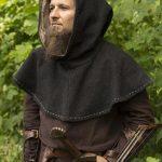 Hood - Medieval - Grey