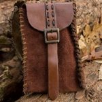 Merchant Suede Bag - Brown