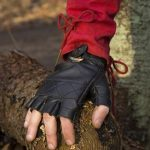 Celtic Gloves - zwart
