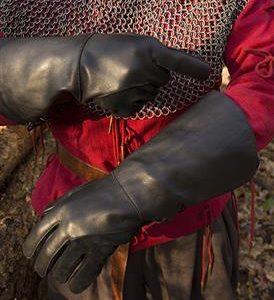 Falcon handschoen zwart